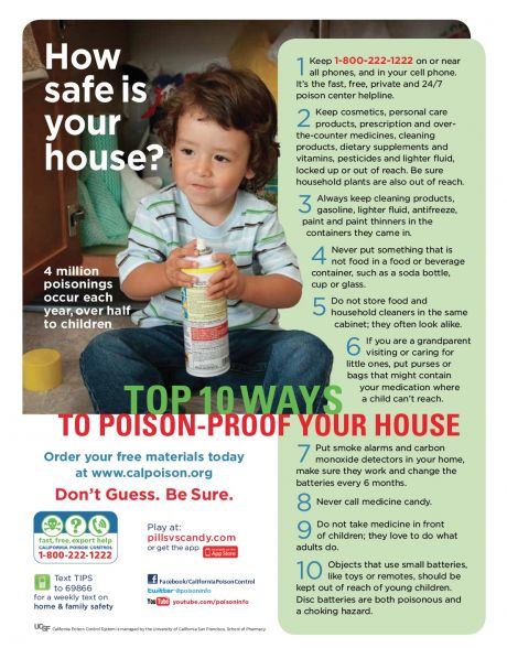 how safe is your house PDF.